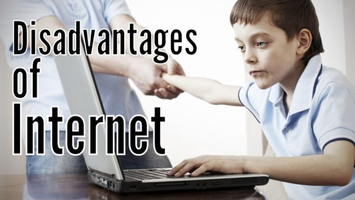 disadvantages of internet