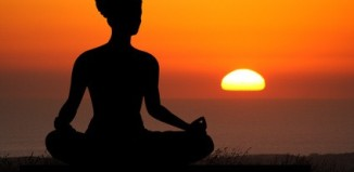 destress by yoga and meditation