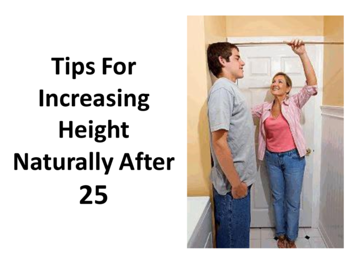 Increase height after the age of 25