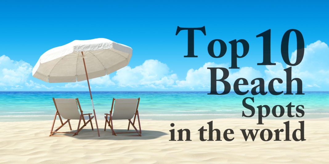 10 top beach vacation spots in the world anextweb for Top ten vacations in the world
