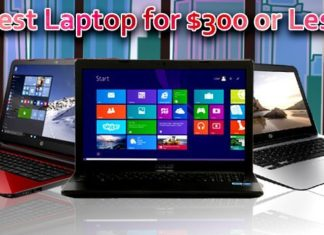 Best Laptop for $300 or Less