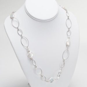 16 inch platinum chain