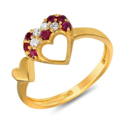 Golden Ring SEMI PRECIOUS GEMSTONES