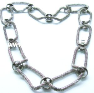 men's silver chain necklace