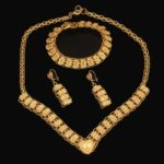 Gold necklace design-font-b-Traditional-b-font-Ethiopian-wedding-jewelry-sets