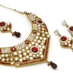 Gold necklace design-vendee-fashion-traditional-necklace-set-aa