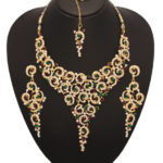 Gold necklace design-vendee-fashion-traditional-necklace-set-ra