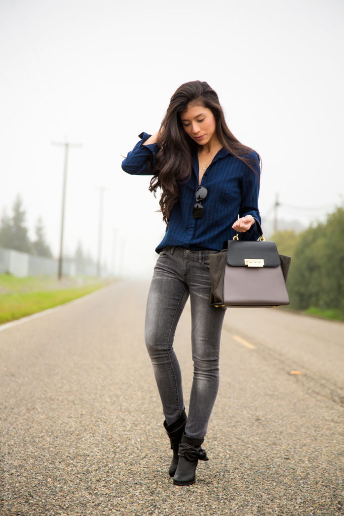 casual-black-jeans-and-button-down-outfit