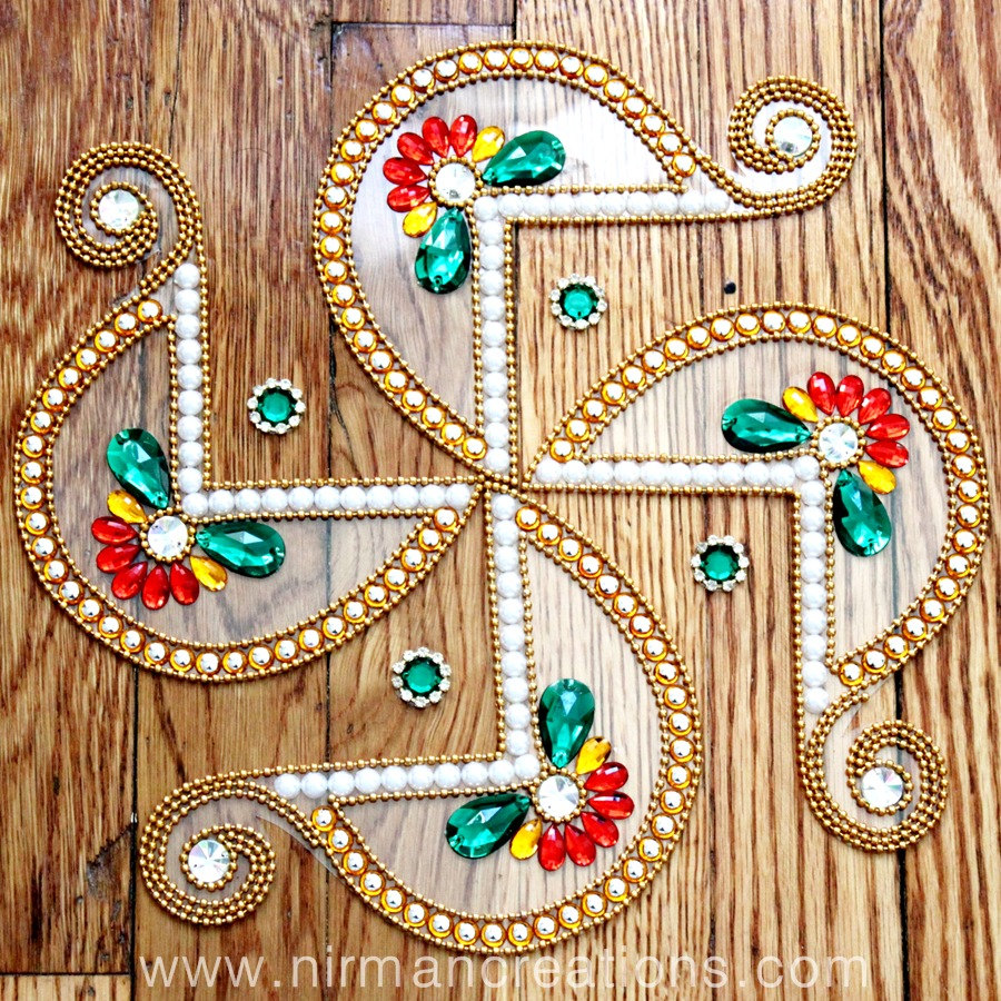swastik-latest-rangoli-designs-for-competition