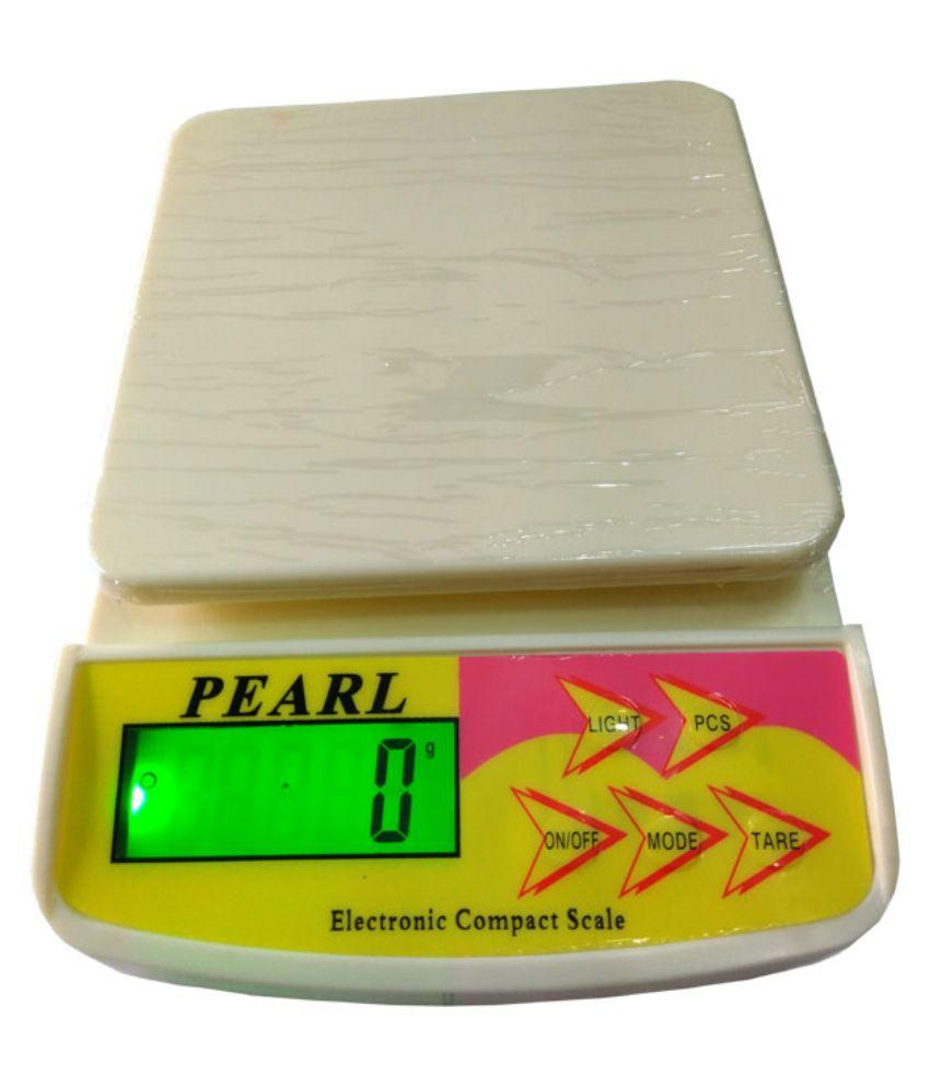 Baijnath Premnath Pearl 10 Kg x 1g Digital Kitchen Weighing Scale