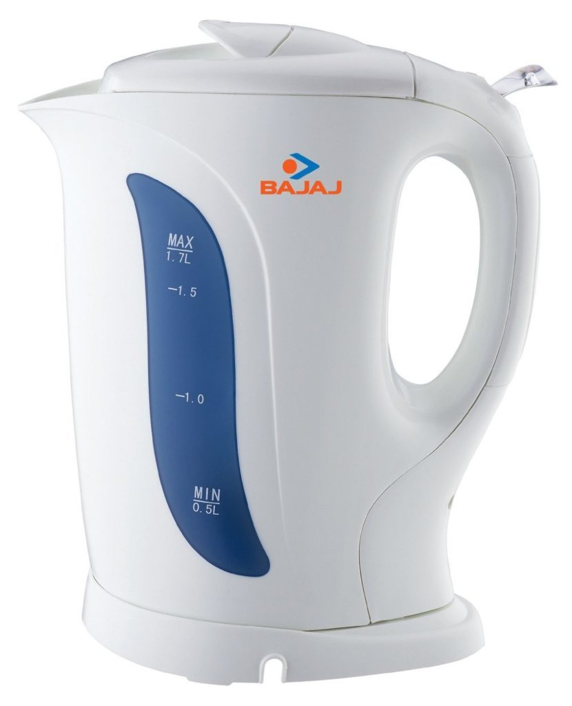 Bajaj 1.7-Liter 1800-Watt Non-Strix Cordless Kettle