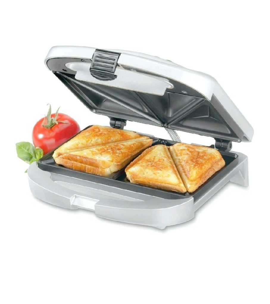 Cuisinart Dual-Sandwich Nonstick Electric Grill