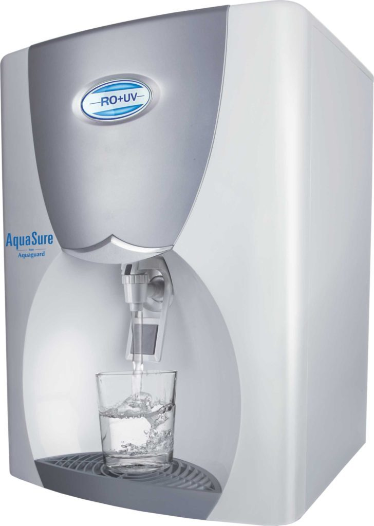 EurekaForbes Aquasure Xpert 8 L RO + UV +UF Water Purifier