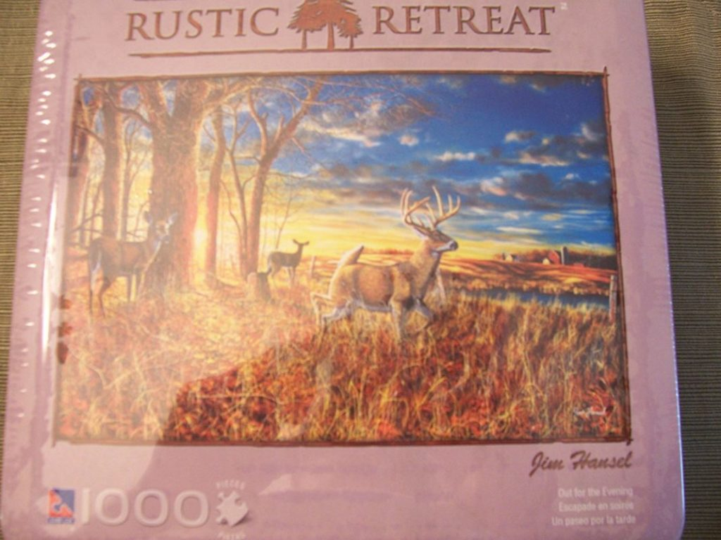 Rustic Retreat 1000 Pcs Puzzle