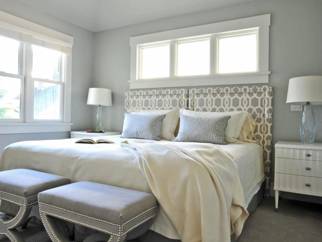 gray color bedrooms