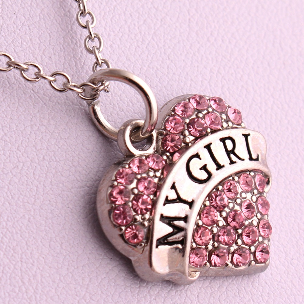 Hot-Selling-my-girl-font-b-heart-b-font-font-b-necklace