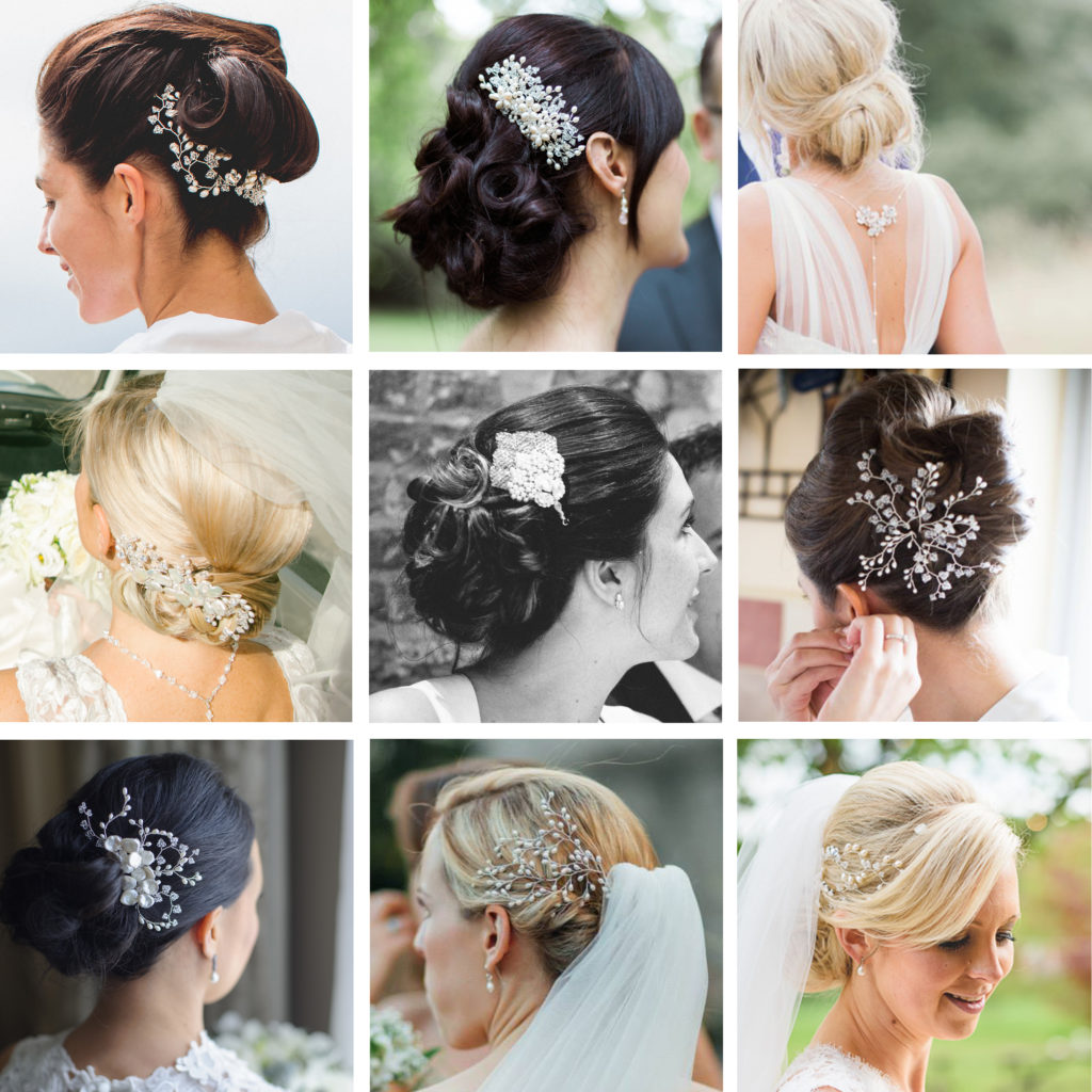 Bridal Hair Accessories For Buns : Hair accessories make your look pretty anextweb