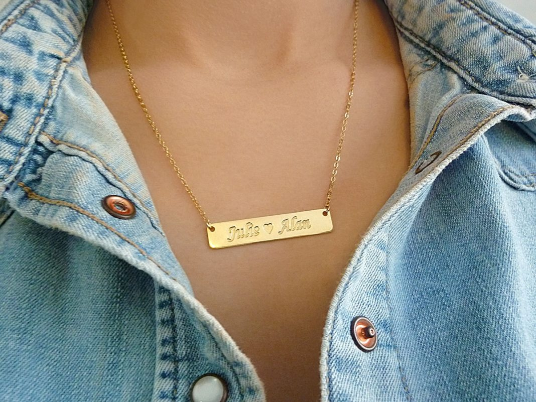 best bar name necklace