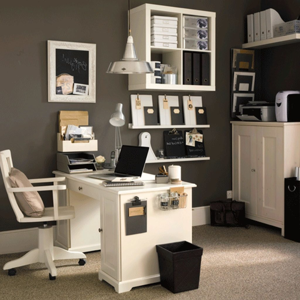 white-home-office-furniture-design