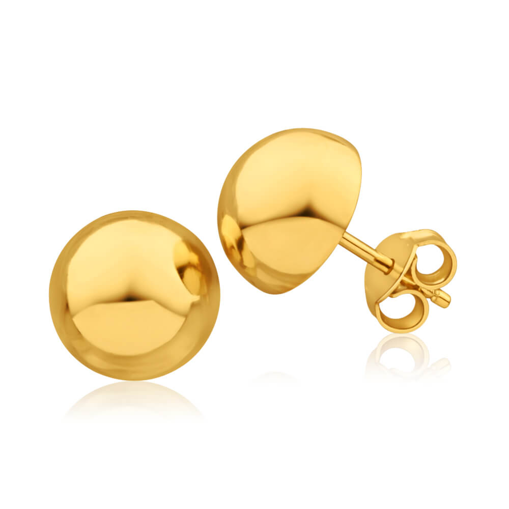 yellow-gold-filled-half-ball-stud-earrings