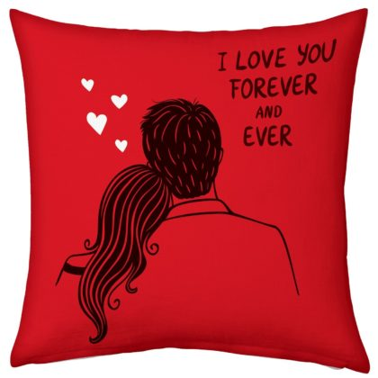 Love U Forever Pillow