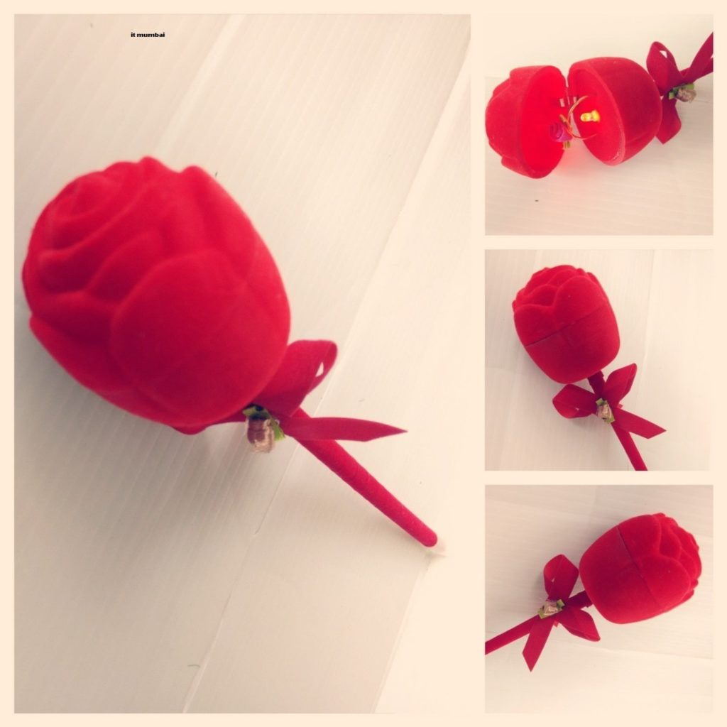 Propose Rose With Ring & Music