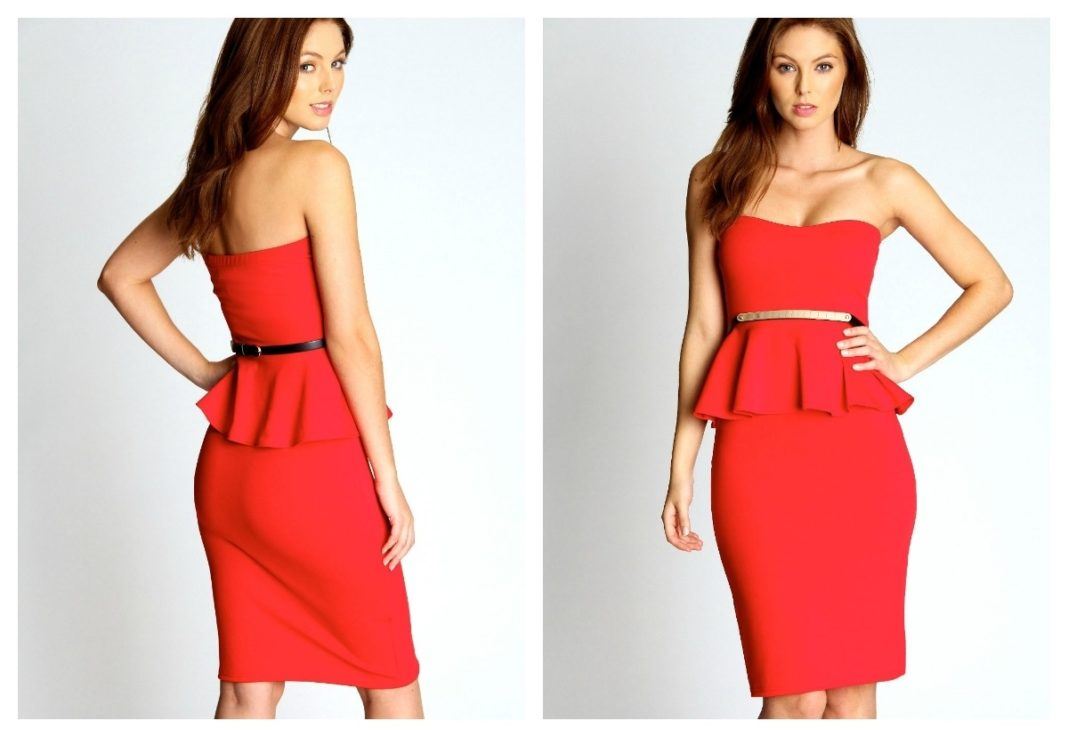 Images of Red Valentines Dress - Watch Out, There's a Clothes About