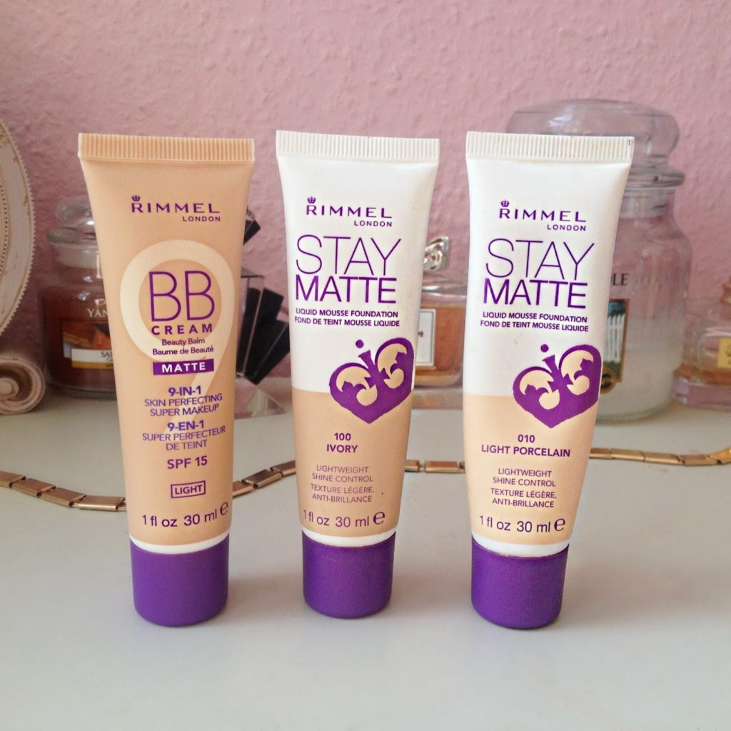 Rimmel Stay Mate Foundation